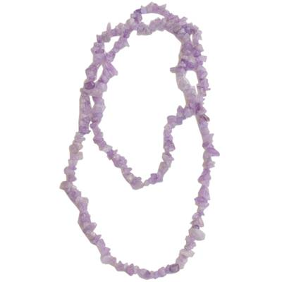 Amethyst Beaded Necklace from Brazil