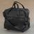 Expandable leather wheeled travel bag, 'Style Traveler in Black' - Expandable Leather Wheeled Travel Bag in Black from Brazil (image 2b) thumbail
