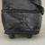 Expandable leather wheeled travel bag, 'Style Traveler in Black' - Expandable Leather Wheeled Travel Bag in Black from Brazil (image 2e) thumbail