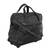 Expandable leather wheeled travel bag, 'Style Traveler in Black' - Expandable Leather Wheeled Travel Bag in Black from Brazil (image 2g) thumbail
