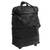 Expandable leather wheeled travel bag, 'Style Traveler in Black' - Expandable Leather Wheeled Travel Bag in Black from Brazil (image 2h) thumbail