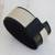 Leather wristband bracelet, 'Modern Tango' - Modern Black and White Leather Wristband Bracelet (image 2) thumbail