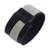Leather wristband bracelet, 'Modern Tango' - Modern Black and White Leather Wristband Bracelet (image 2f) thumbail