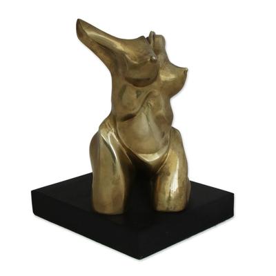 Fine Art Bronze Nude Sculpture of a Woman