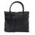 Leather shoulder bag, 'Alligator Chic' - Alligator Pattern Black Leather Shoulder Bag from Brazil (image 2a) thumbail