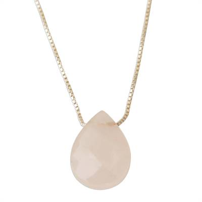 Contemporary Brazilian Rose Quartz and Silver 16