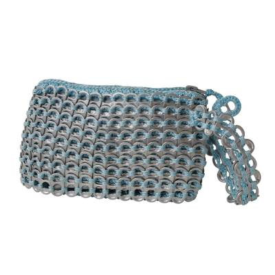 Multicolored Aluminum Soda Pop-Top Wristlet from Brazil