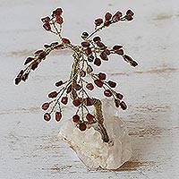 Gemstone sculpture, 'Tree of Passion'