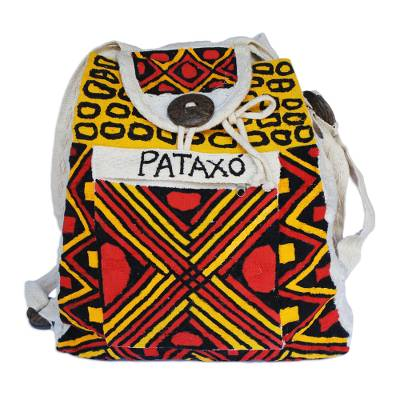 Unisex Hand Painted Backpack