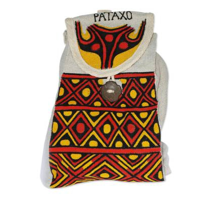 Colorful Hand Painted Backpack