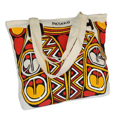Handcrafted Tote Bag from Brazil