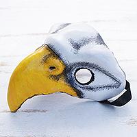 Leather mask, 'Eagle'