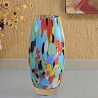 Art Glass Vases Unique Art Glass Vase Collection At Novica