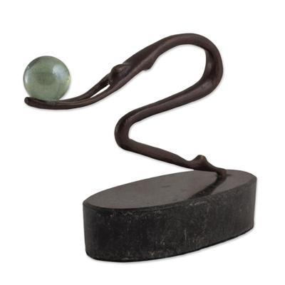 Bronze sculpture, 'Ballet Balance' - Bronze sculpture