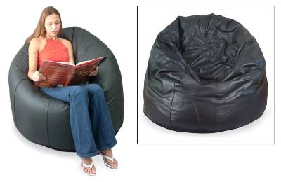 Leather beanbag chair cover (Single)
