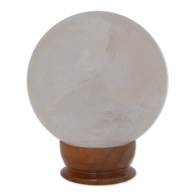 Quartz crystal ball (medium)