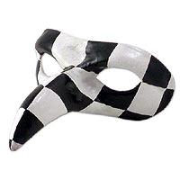 Leather mask,