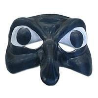 Leather mask, 'The Witch' - Leather mask