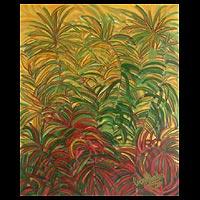 'Zinnia Mysteries' - Botanical Art Painting