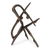 Bronze sculpture, 'Intersection' - Bronze sculpture