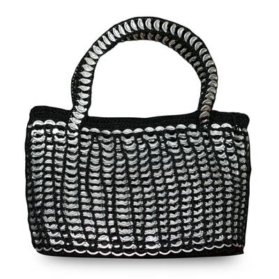 Soda pop-top handbag,