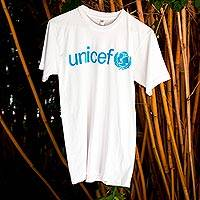 UNICEF Adult T-Shirts (White) - Help Spread the UNICEF Message