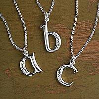 Sterling silver pendant necklace, Book of Kells