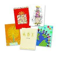 UNICEF Business Collection Birthday Cards (set of 50) - UNICEF Business Collection Boxed Cards