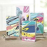 UNICEF Abstract all-occasion cards (set of 12) - Abstract Considerations UNICEF All-Occasion Cards (12)