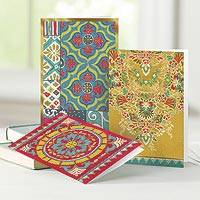 UNICEF everyday cards, 'A Penchant for Pattern' (set of 12) - UNICEF Everyday Cards Boxed Assortment of 12