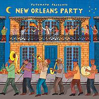 Audio CD, 'New Orleans Party' - Putumayo Audio CD of New Orleans Music