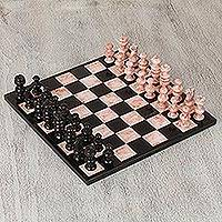 Marble chess set,