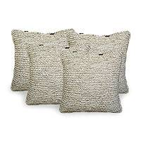 'Tranquility I,' cushion covers (set of 4)