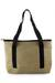 Jute shoulder bag, 'Road Trip' - Handcrafted Jute Shoulder Bag with Recycled Rubber Trim (image 2b) thumbail