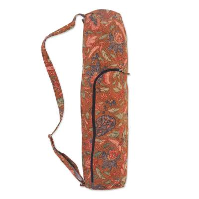 Cotton yoga mat bag, Tiga Negeri