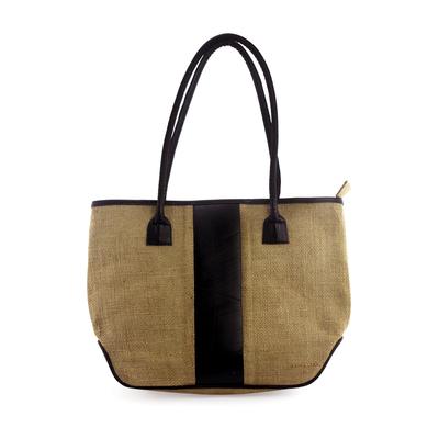 Eco Chic Jute Shoulder Bag