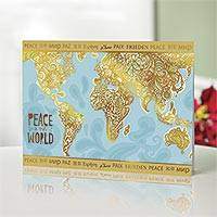 UNICEF holiday cards, 'Peace in Our World' (set of 12) - UNICEF Holiday Cards with Global Peace Theme (set of 12)