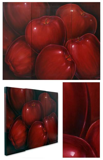'Dance of Temptation' (triptych)