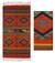 Zapotec wool rug, 'Red Rhombus' (2x3) - Handcrafted Geometric Mexican Rug (2x3) thumbail