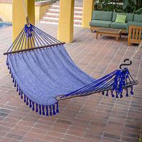 Cotton hammock, 'Take Me to the Stars' (single)