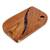 Teak wood trivet, 'Coffee Morning' - Coffee-Themed Teak Wood Trivet from Costa Rica (image 2a) thumbail