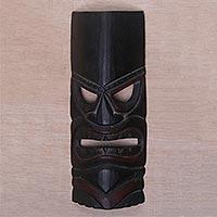 Wood mask, 'Papua Shield'