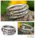 Sterling silver wrap ring, 'Hill Tribe Spiral' - Hand Crafted Sterling Silver Wrap Ring (image 2) thumbail