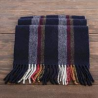 Lambswool scarf. 'Irish Herringbone' - Irish Herringbone Pattern 100% Lambswool Scarf