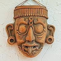 Ceramic mask, 'Maya Lord Kinich Aha'