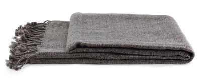 Handmade Solid Throw Blanket