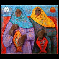 'Two Fisherwomen with Shawls' (2005)