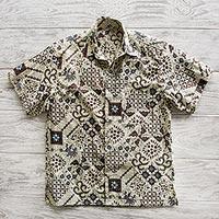 Patterned Shirts for Men at NOVICA