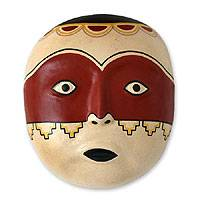 Ceramic mask, 'Huari' - Ceramic mask