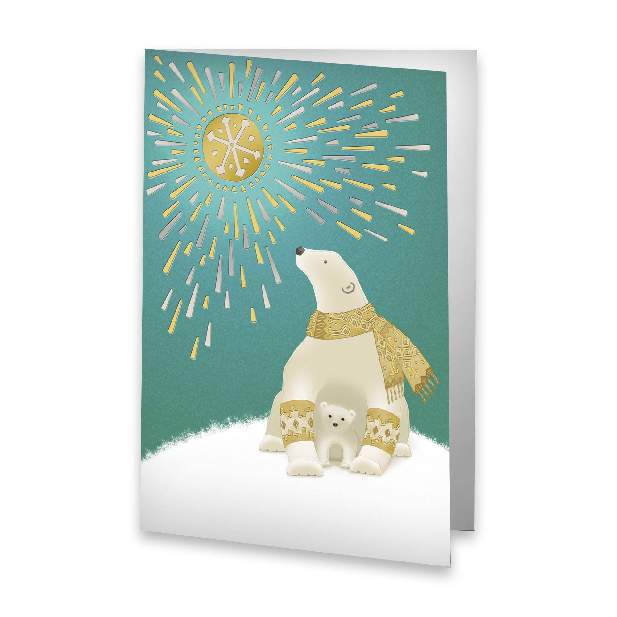 unicef holiday cards arctic sunbath set of 12 unicef holiday